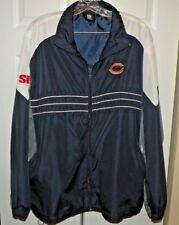 Reebok NFL Team Apparel CHICAGO BEARS Football  Windbreaker Jacket Size. XL