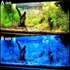 """120-LEDs White & Blue LED Light Full Spectrum Aquarium Fish Tank Light 30""""-35"""""""