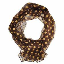 Sciarpe, foulard e scialli da donna collo marrone