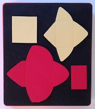 Sizzix Large Red Original Die Cutter ~ CARDS & ENVELOPES, TINY~  Scrapbook Cards