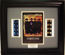 TOMBSTONE FRAMED FILM CELL KURT RUSSELL