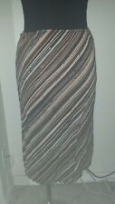 Womens Juniors Striped Pencil Skirt Size Small