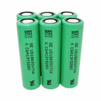 18650 Battery Li-ion VTC6 3.7V 3000mAh Rechargeable Batteries with USB Charger