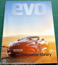 Evo Magazine 176 - McLaren P1 - Porsche 918 Spyder - Aston Martin Vanquish AM310
