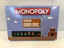 Monopoly Super Mario Bros. Collector's Edition by Hasbro 2016 Complete
