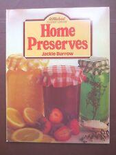 Vintage Cook Book HOME PRESERVES Jam Pickle Recipes RETRO St Michael 1980s
