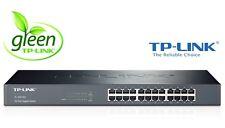 "Netzwerk Switch 24 Ports 19"" RACK TP-Link TL-SG1024 10/100/1000 Mbit Gigabit LAN"