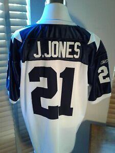 REEBOK On Field  Julius Jones Dallas Cowboys Stiched Jersey Size 52  P10659