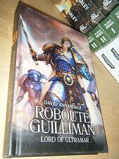 David Annandale ROBOUTE GUILLIMAN: LORD OF ULTRAMAR 1st/HB MINT Warhammer 40K