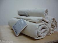 IKEA Bomull Ungebleicht Uncoloured Calico Baumwolle Vorhang Futter Stoff 150cm