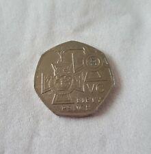 Rare Victoria Cross Medal 50p coin 2006
