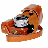 New Stylish PU leather Camera Bag Case Cover Pouch For Sony A6000 A6300 NEX6