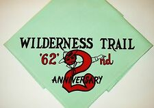 BOY SCOUT  WILDERNESS TRAIL  2ND  ANNIV  N/C    MICH