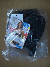 Bra Ladies Sloggi Wow! WHPM Push In Effect T Shirt Bra Black Size 30 A New +Tags