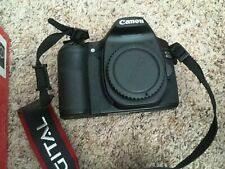 Black Canon EOS 40D 10.1MP Digital SLR Camera with Canon 18-55mm lens IOB
