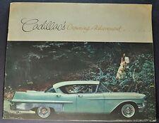 1957 Cadillac VIP Brochure DeVille Fleetwood 62 60 Special Nice Original 57