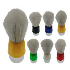 Reusable Bristles Shave Shaving Razor Brush Plastic Handle Brushes Tool For Men