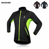 Cycling Jacket Windproof Racing Fleece Thermal Winter Long Sleeve Jersey Coat