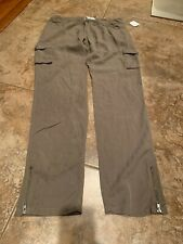 Monoreno Lightweight Olive Army Green Trousers Large NWT (133)