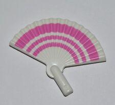 65203 Abanico blanco y rosa playmobil,western,victoriano,fan,victorian