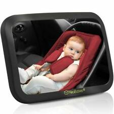 New ListingBaby Car Mirror-Safety Car Seat Mirror For Rear Facing Infant-Wide Shatterproof