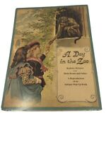 Vintage A Day In The Zoo Reproduction Antique Pop-Up Book 9x12 Viking Press