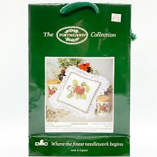 The Portmeirion Collection by DMC Cross Stitch Kit #K728 Hoary Morning Apple New