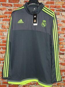 Maillot Football Veste Sweat-Shirt Plush Haut Sport Real Madrid Nouveau Tag