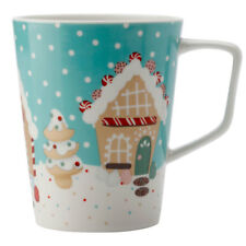 Maxwell & Williams 450ml Gingerbread Road Mug/Cup for Hot Cold Coffee/Tea Green