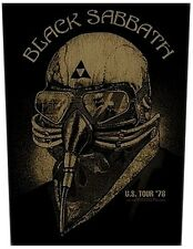 Black Sabbath US Tour '78 large sew-on backpatch  360mm x 300mm (ro)