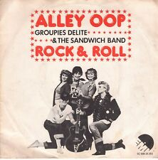 7inch GROUPIES DELITE & THE SANDWICH BAND alley oop HOLLAND 1975 EX  (S0780)