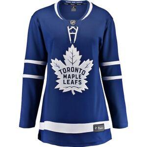 Women's Toronto Maple Leafs Fanatics Blue Breakaway Hockey Jersey NHL Large