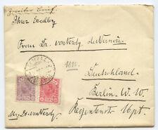 Serbien Brief Belgrad Berlin 1895