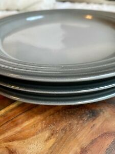 """Le Creuset Salad Plate Set Of 3 (Oyster/Gray) 8 5/8"""""""