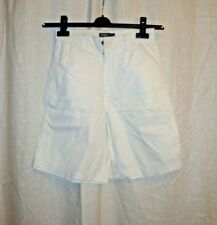 Ladies POLO by RALPH LAUREN white walking travel summer casual shorts sz 10