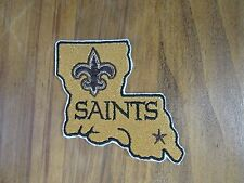 NFL New Orleans Saints Sew/Iron On Patch 2006- Pres. Made in USA