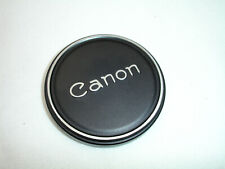 Canon 60mm Metal Lens cap, for Filter size 58mm Push ON / Slip ON , Genuine