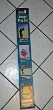 Annin Range Flag Set ~ Golfing / Golfer's 3 Flag Home Practice Set ~ Golf Flags