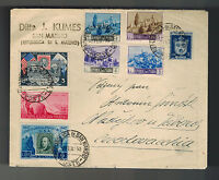 1950 San Marino Cover to Czechoslovakia