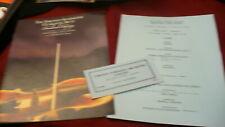 Toronto Symphony Canadian Odyssey program ticket Inuvik NWT Delta Drummers