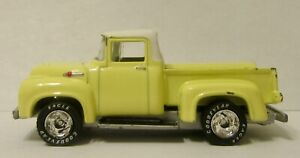 1996  Matchbox '56 Plain Yellow Ford Pickup  With White Top 1/65 Scale