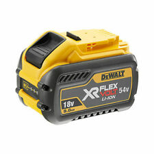 DeWalt DCB547-XJ XR Flex Volt 18V Lithium Ion Battery - Yellow/Black