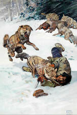 Wolf Attack by Lynn Bogue Hunt