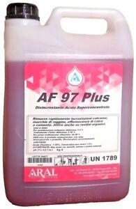 Detergente Disincrostante Piscine AF 97 Plus Aral per Pulizia di Inizio Stagione