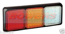 Led autolamps 125brawme 12v/24v trasero combinación stop/tail/ind / Reversa Lámpara