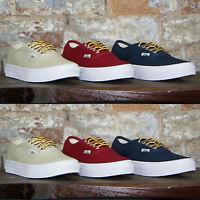 Vans Authentic Slim Trainers Pumps,Skate Shoe,Plimsolls new box,Size 3,4,5,6,7