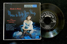 MUSIC TO HELP YOU SLEEP 45 RPM EP 2 RECORDS  PICTURE SLEEVE