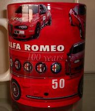 Alfa Romeo 100 YEARS TRIBUTE MUG - UNIQUE and rare, SZ , 8C , 156 DTM WTCC MUG