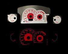 00-05 Mitsubishi Eclipse l4 AT Red Indigo Glow White Gauges (I-175)