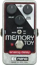 Electro-Harmonix Memory Toy Analog Echo Chorus Delay Nano Guitar Pedal EHX